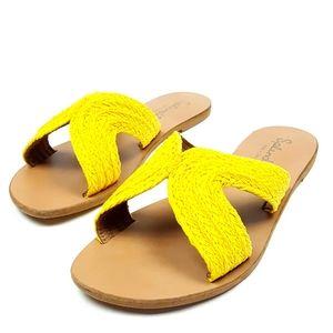 Splendid Women's Sydney Woven Slide Sandal